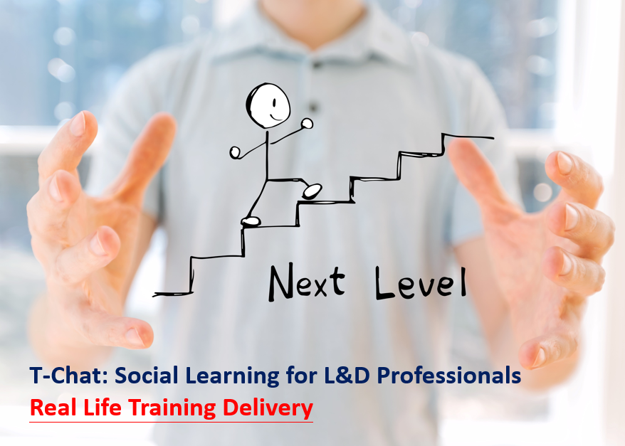 T-Chat: Social Learning for L&D Professionals – Real Life Training Delivery