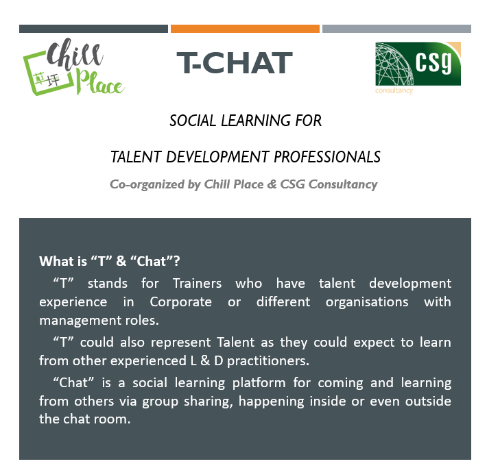 T-Chat: Social Learning for Talent Development Professionals
