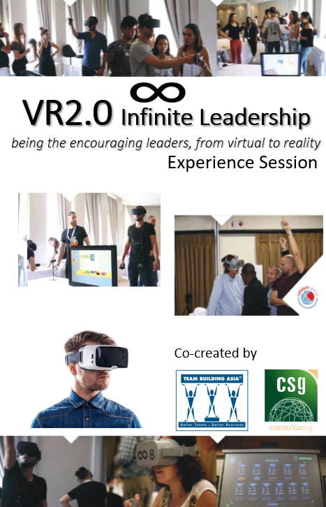 VR2.0 Infinite Leadership – Experience Session